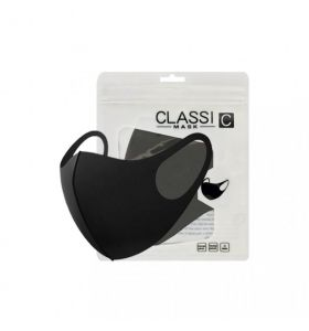 Classic Protective Terylene Mask Black