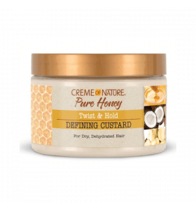 Creme Of Nature Pure Honey Twist & Hold Defining Custard 11.5oz