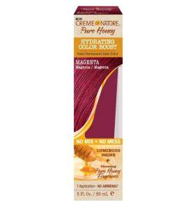 Creme Of Nature Pure Honey Color Boost- Magenta -3oz/89ml