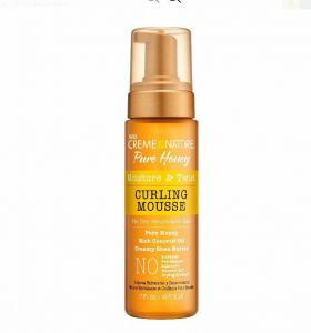 Creme of Nature Pure Honey Curling Mousse 7 oz