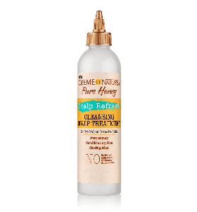 Creme of Nature Pure Honey Scalp Refresh Cleansing Scalp Treatment 8oz
