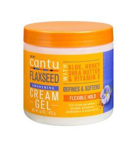 Cantu Flaxseed Smoothing Cream Gel 16 Oz/ 453 G