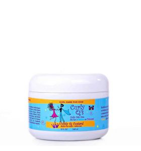 Curly Q Custard – Curl Cream for Thick, Kinky Textured Curls 8oz