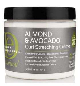 Design Essentials Almond & Avocado Curl Stretching Cream 16oz