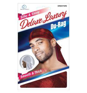 Dream Silky & Shiny Deluxe Luxury Du-Rag Glitter Red