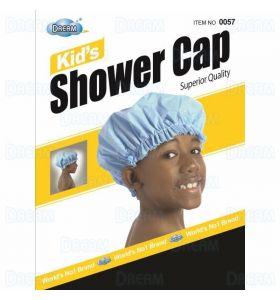 DreamWorld Kid's Shower Cap Black