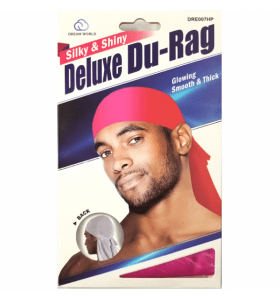 DREAM SMOOTH & THICK DELUXE DU-RAG HOT PINK