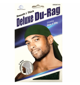DREAM SMOOTH & THICK DELUXE DU-RAG HUNTER GREEN