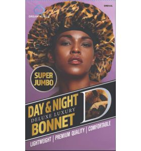 Dream World Day & Night Delux Luxury Bonnet Super Jumbo - Leopard