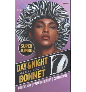 Dream World Day & Night Delux Luxury Bonnet Super Jumbo - Zebra