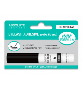 Eyelash Adhesive with Brush - Clear