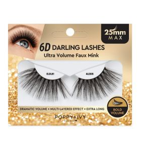 Poppy & Ivy 6D Darling Lashes 25mm - Alexis