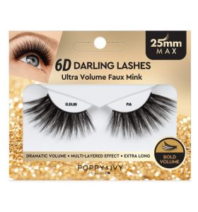 Poppy & Ivy 6D Darling Lashes 25mm - Pia