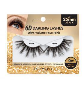 Poppy & Ivy 6D Darling Lashes 25mm - Safiya