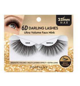 Poppy & Ivy 6D Darling Lashes 25mm - Marcella