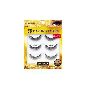 5D Darling Lashes Multipack - Catalina