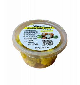 Vitamix Raw Shea Butter - Yellow Chunky - 250g-8.5oz