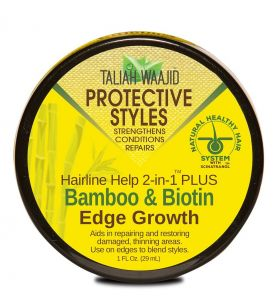Taliah Waajid Hairline Help 2-In-1 Plus™ Bamboo And Biotin Edge Grow 29 ml