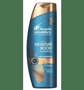 Head & Shoulders Royal Oils Moisture Boost Shampoo 13.5oz-400ml