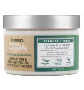 Dr. Miracle's Hydrating & Strengthening Deep Conditioning Masque- 340gr/12oz
