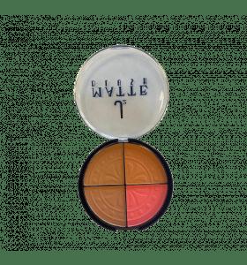 J2 Matte Blusher - 4 Colors per compact  No.2