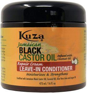 Kuza Jamaican Black Castor Oil Repair Cream Leave in Conditioner 473 ml