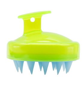 MHS Hair Scalp Massager Shampoo Brush Green-Blue
