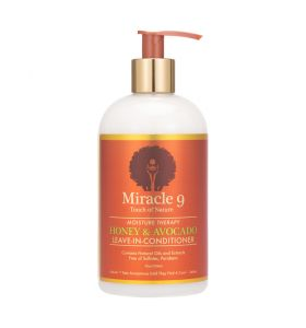 Miracle 9 Moisture Therapy Honey & Avocado Leave in Conditioner 12oz