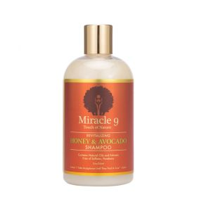 Miracle 9 Revitalizing Honey & Avocado Shampoo 12oz