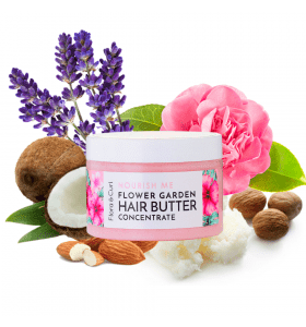 Flora & Curl Flower Garden Hair Styling Butter 120Gr