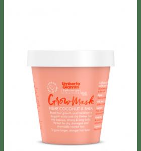 Umberto Giannini Grow Mask Vegan Hemp, Coconut & Shea Treatment 230ml