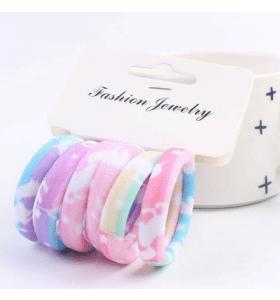 MHS Hair Pony - Rainbow - 6 pieces