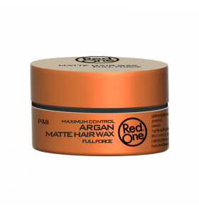 Red one Argan Matte Hair Wax Full Force 150 ml