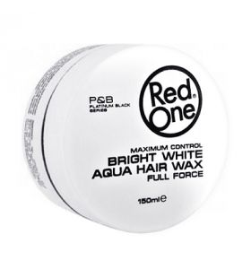 RedOne Aqua Hair Wax Bright White 150 ml