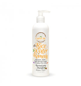 Curly Chic Ricewater Revitalizing Shampoo 12 oz