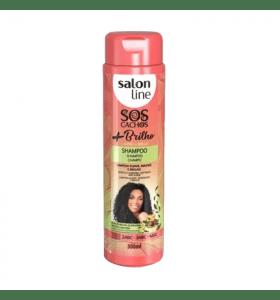 Salon Line Curls Shine + Brilho Shampoo 300ml