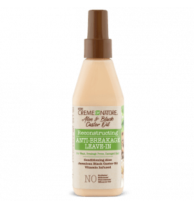 Creme of Nature Aloe & Black Castor Oil Reconstructing Anti-Breakage Leave-in 236.5 ml
