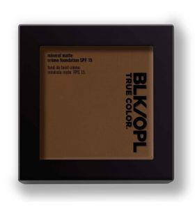 BLK/OPL Mineral Matte Crème Powder Foundation SPF 15 Suede Mocha