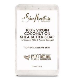 Shea Moisture 100% Virgin Coconut Oil Daily Hydration Bar Soap 230g