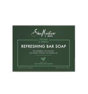 Shea Moisture Men Vetiver & Neroli Refreshing Bar Soap 2 Pieces 113g