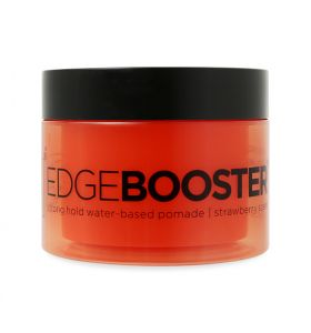 Style Factor Edge Booster Strong Hold Water Based Pomade Strawberry 3.38oz