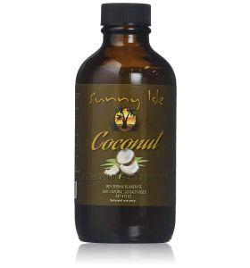 Sunny Isle Black Jamaican Castor Oil, Coconut  4oz