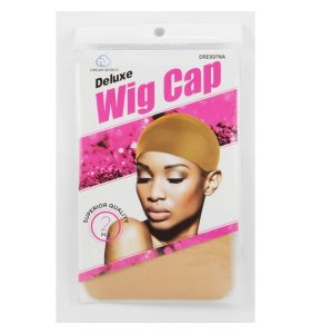 Dream World Deluxe Wig Cap Natural 2PCS